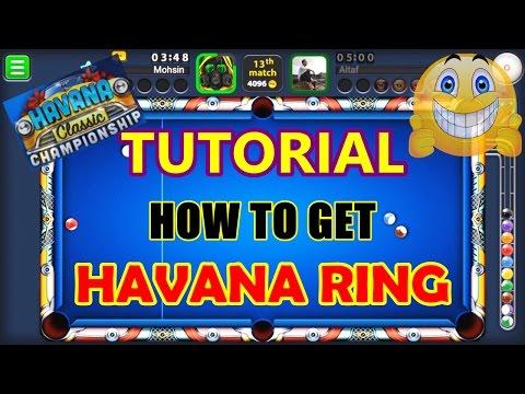8 Ball Pool - (TUTORIAL) HOW TO GET HAVANA RING (TIPS/TRICKS)