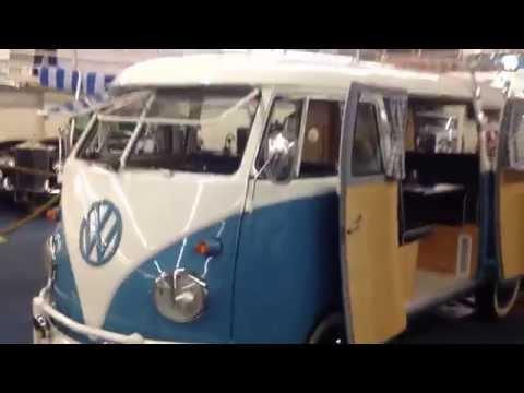 1961 VW Volkswagen Microbus Micro Bus Double Door Camper For Sale