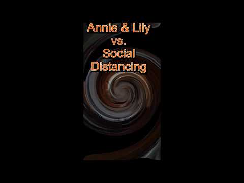 Coon hounds Annie & Lily Vs Social Distancing