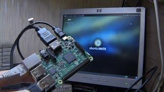 Raspberry Pi 3. Первый запуск, обзор, распаковка и первые впечатления.