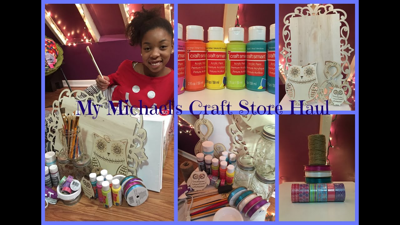 Michael 39 s craft store haul life as gabi youtube for Michaels craft store watches