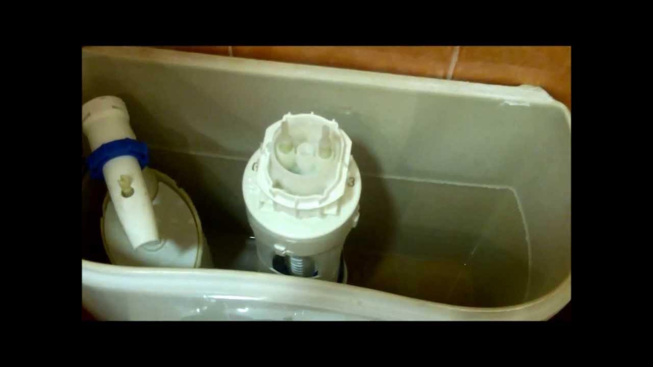 reparar cisterna que pierde agua repair cistern which