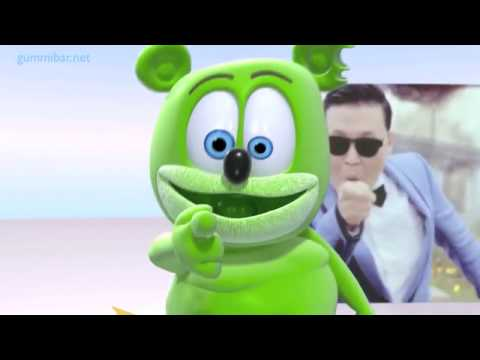Gummibär GUMMY GANGNAM STYLE Full Length Gummy Bear Song