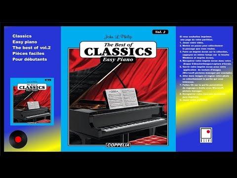 PARTITIONS - MÉTHODE DE PIANO CLASSIQUE VOL.2 POUR DÉBUTANTS - COPPELIA OLIVI