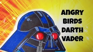 How To Draw Angry Birds Darth Vader