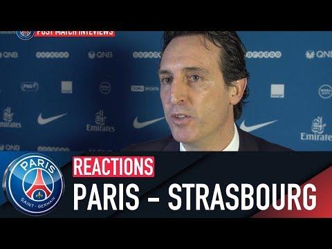 REACTIONS : PARIS SAINT-GERMAIN 5 - 2 STRASBOURG