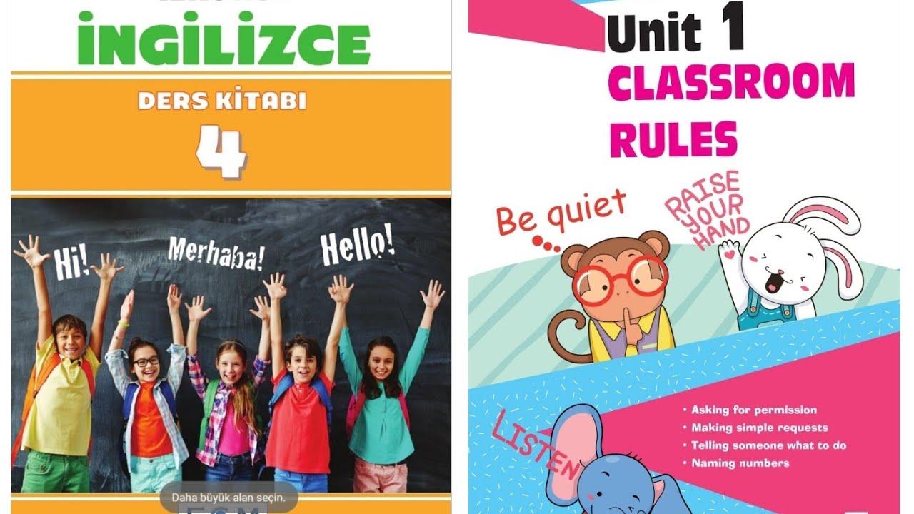4. Sınıf İngilizce 1. Ünite Classroom Rules (Animasyonlu Anlatım)