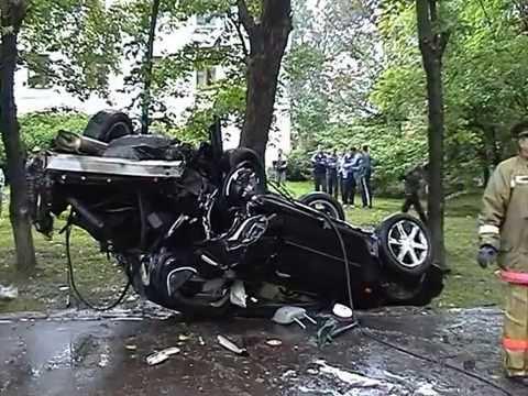 Кузнецк, август 2006, Авария на ул.Победы