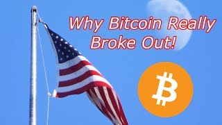 Bitcoin : The REAL Reason BTC Broke Out! INSERT CLICKBAIT! Crypto Technical Analysis