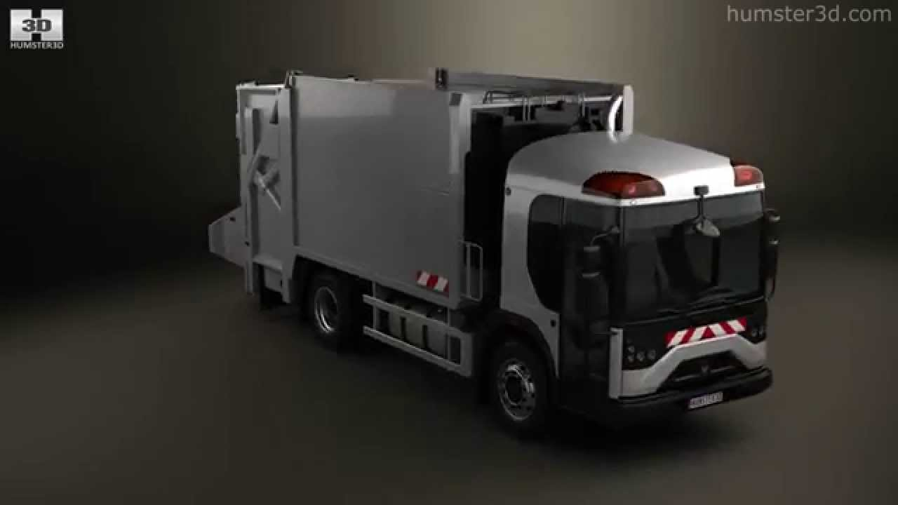 Renault Access Garbage Truck 2017 By Model Humster