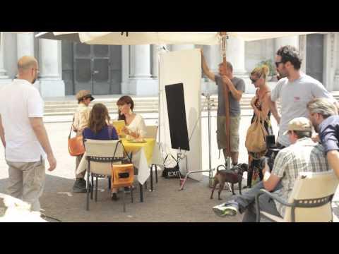 Backstage spot nuova App Corriere della Sera Digital Edition