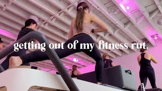 getting out of my fitness rut | VLOG EP. 6
