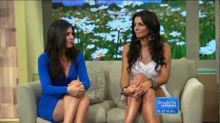 Chiquinquirá Delgado, Jackie Guerrido and Ceci Galliano 2012/06/18 ¡Despierta América! HD