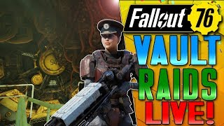 THE BEST RAID SO FAR!!!!! -  MISSION 3 - FALLOUT 76!! - LIVE - BUGS GALORE!!