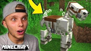 OSWOIŁEM NAJRZADSZEGO KONIA w Minecraft!