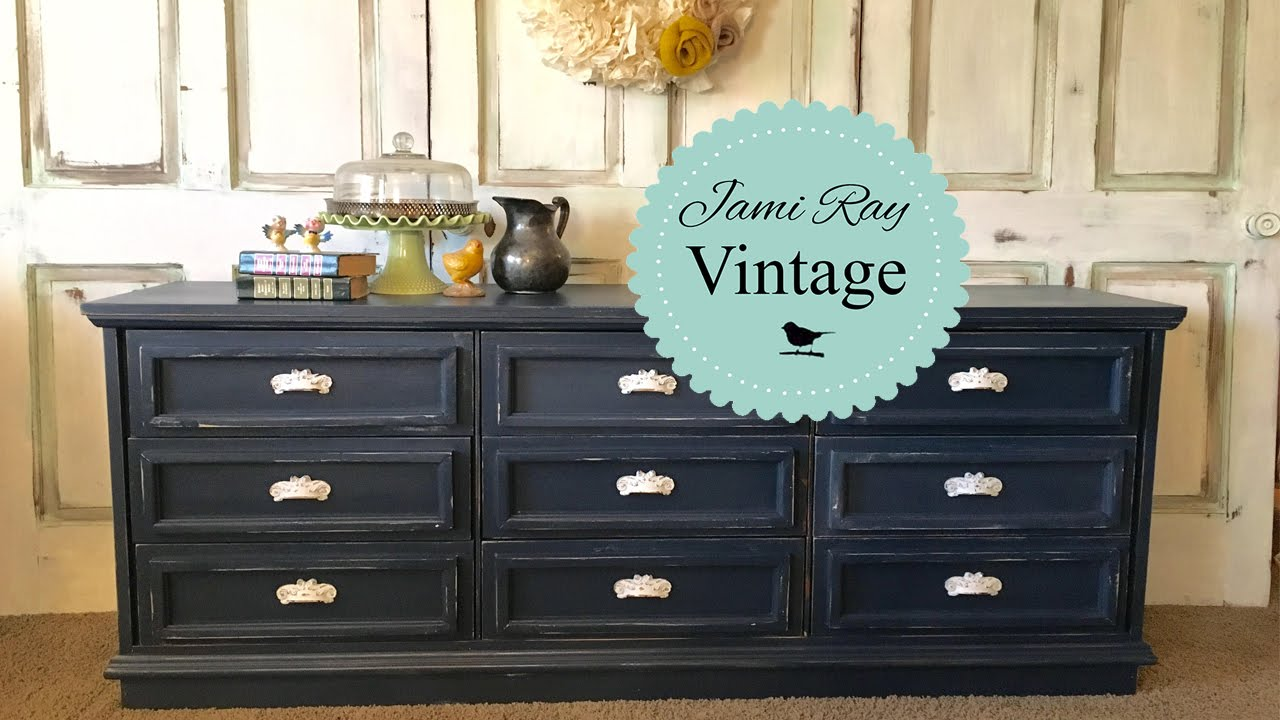 How To Upcycle A Dresser Youtube