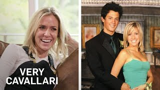 """Jay cutler is along for the ride as kristin and her mother take a trip down memory lane using old magazines photos! watch on """"very cavallari.""""#verycavall..."""