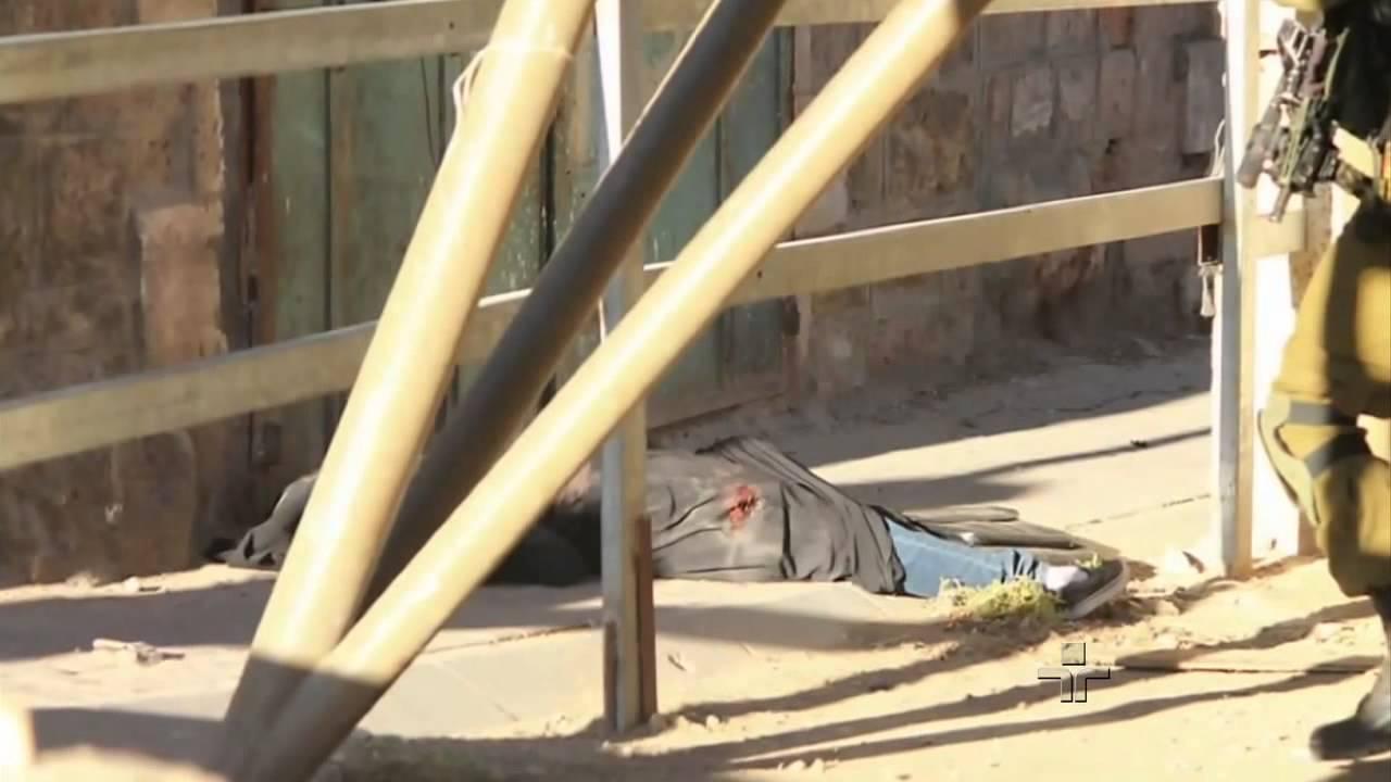 Download Fotógrafo brasileiro registra soldados israelenses matando uma palestina