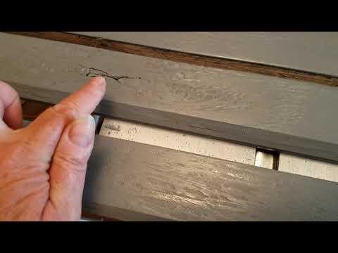 Plywood Flooring Threshold: DIY wood flooring