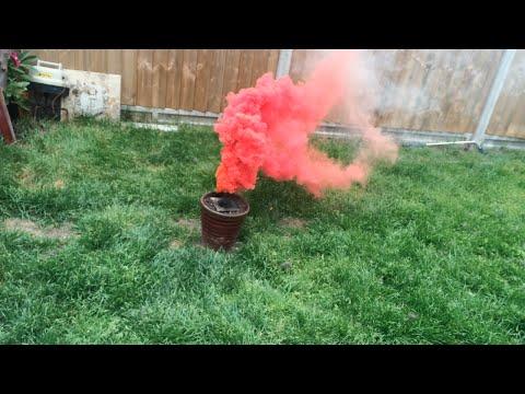 How To Make A Military Grade Smoke Bomb!