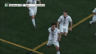 Highlights: Men's Soccer at Yale Oct. 12, 2019