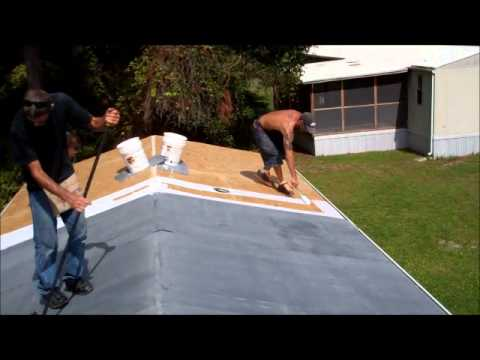 how to fix leaking mobile home roof - Mobile Home Roof Coating