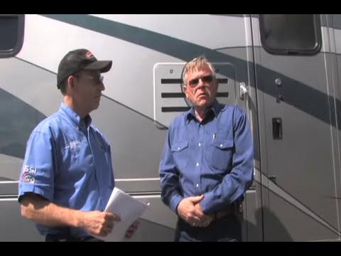 RV motorhome air ride kit air bags softer ride installation test drive  unsprung weight