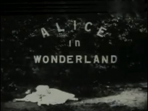 Alice In Wonderland 1903 Silent Movie Youtube