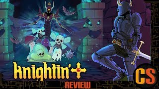KNIGHTIN'+ - PS4 REVIEW (Video Game Video Review)