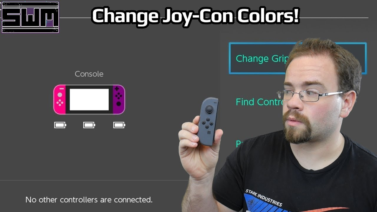 Change Nintendo Switch Joy-Con Colors Through Software!