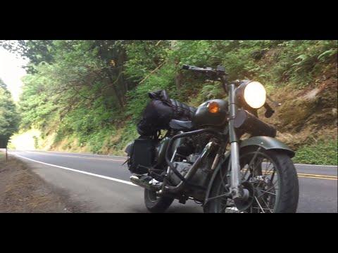 Nomadic Motorcycling up the west coast of America