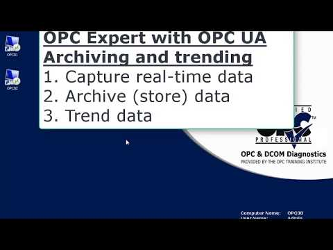 Archive OPC Data using OPC Expert: Free download