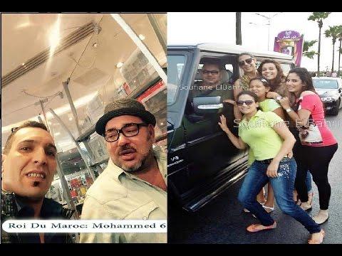 محمد السادس وعشقه لصور سيلفي مع المواطنين