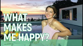 What makes me happy? 2020 // Alice Dixson