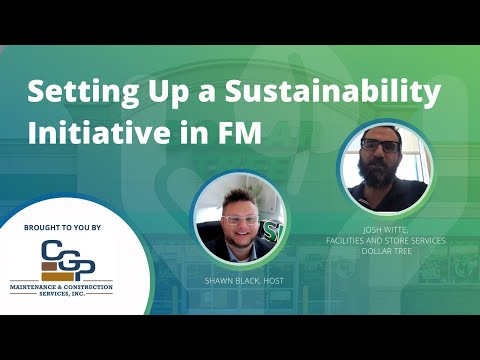 Setting Up a Sustainability Initiative in FM with Josh Witte