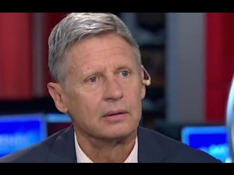 How Gary Johnson's Aleppo Gaffe May Help His Campaign