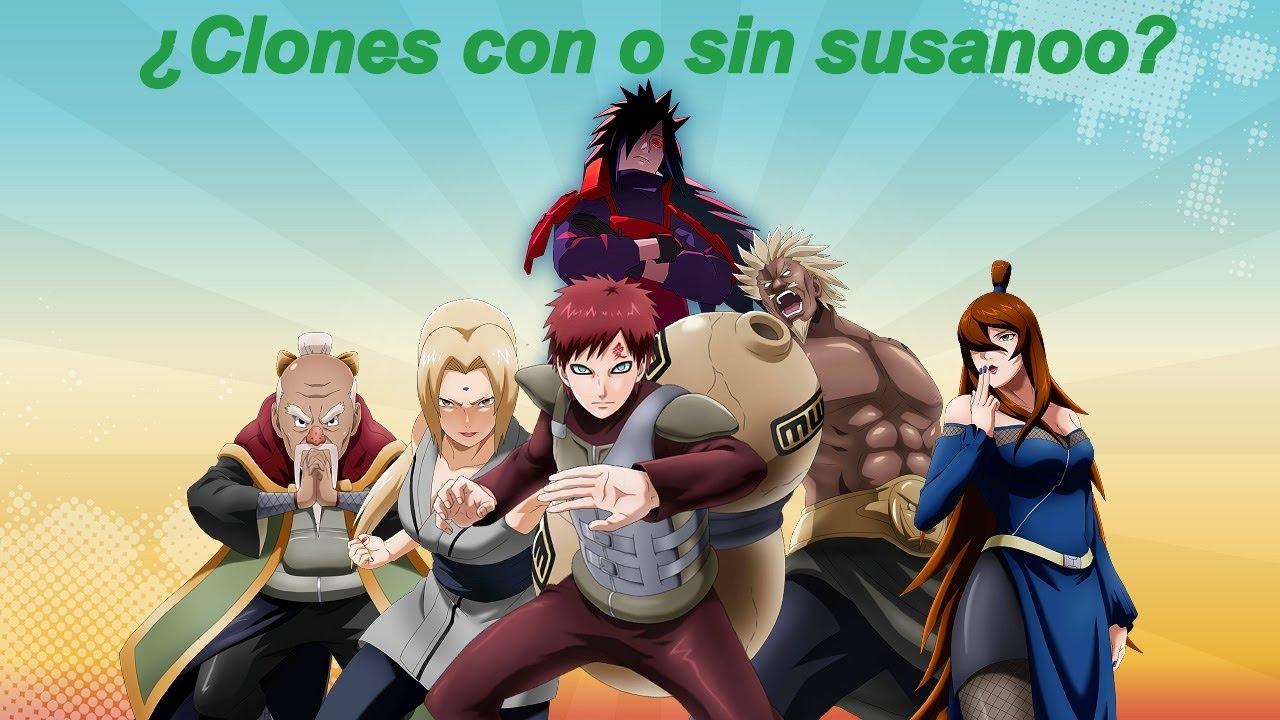 Los NINJAS que pueden BARRER EL PISO con los 5 kages - Naruto