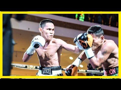 Jayson Mama Wins WBO Regional Belt With TKO Victory