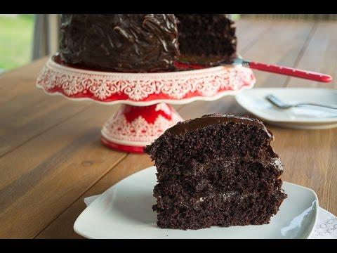 Torta Húmeda De Chocolate Youtube
