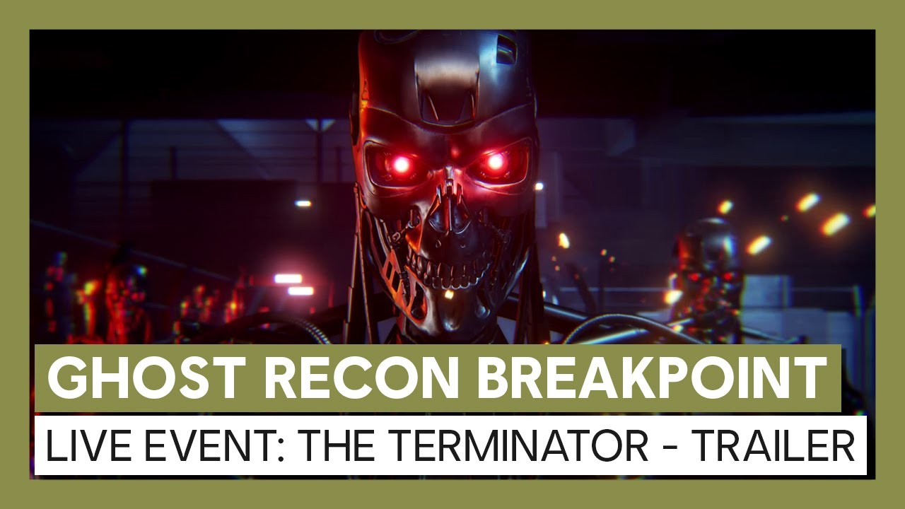 Ghost Recon Breakpoint: The Terminator Live Event - Trailer