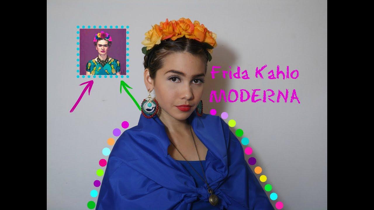 Disfraz Look Frida Kahlo Fácil Bonito Rápido Y Barato Soy Brig Youtube
