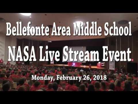 Bellefonte Area Middle School NASA Live Stream Event