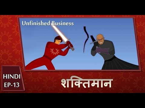 Shaktimaan Animation Hindi - Ep#13