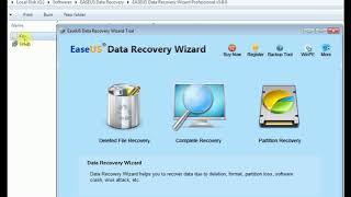 Easeus Data Recovery Wizard Pro v5 8 0 + Free Key Lifetime