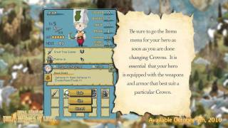 Final Fantasy: The 4 Heroes of Light (DS) Crown Job System Trailer