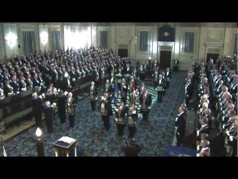 Masonic Ritual - Making Of A Grand Master