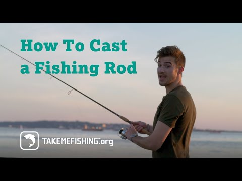 Simple Way To Cast A Fishing Rod