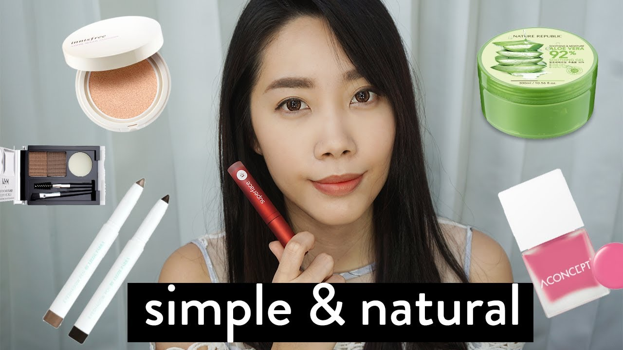 Makeup Buat Pemula Simple Natural Ala Korea Youtube