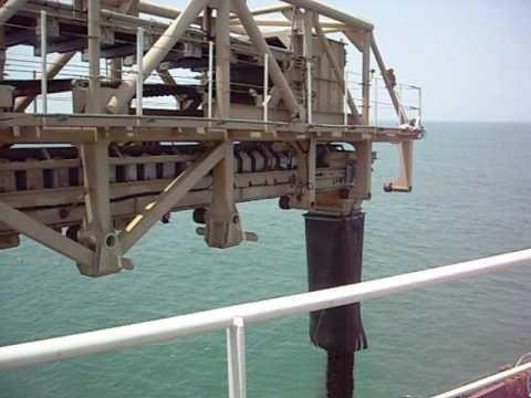 Offshore Transfer Terminal Vishal Hira with MacGregor deck conveyors and Cranes