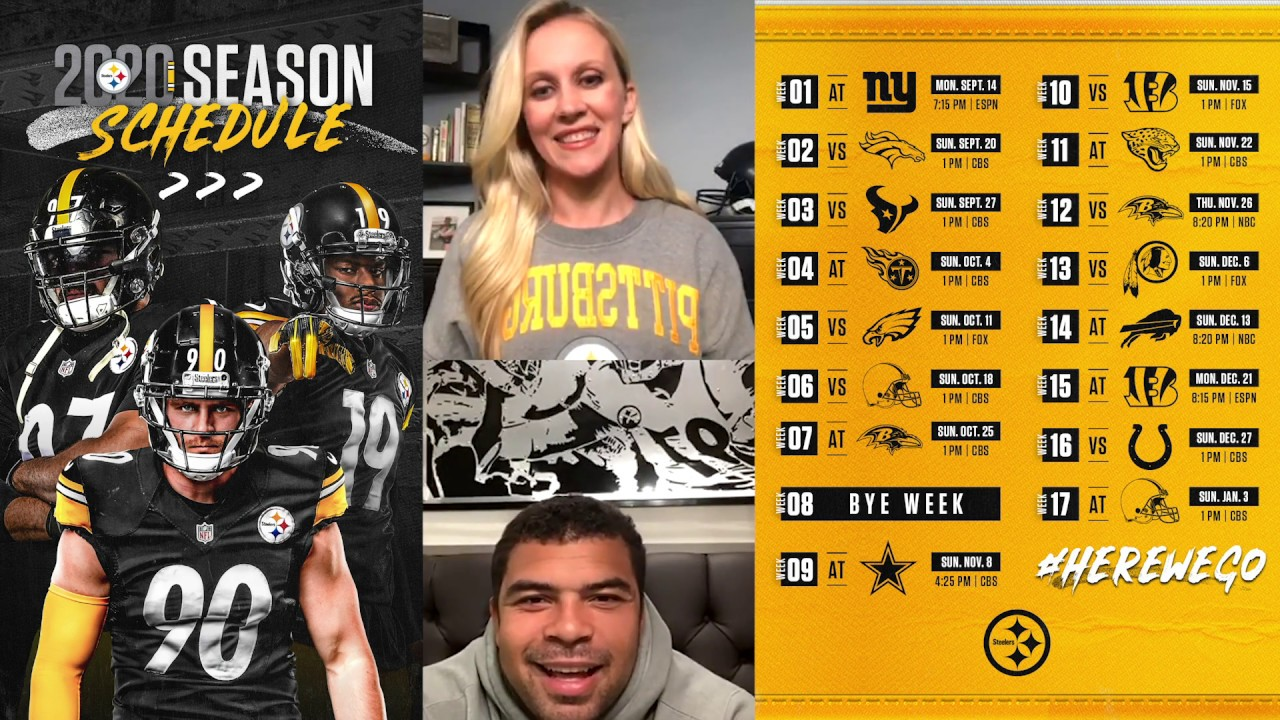 Cameron Heyward Reacts To The Steelers 2020 Schedule We Need To Take Care Of Business Early Youtube